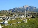 Руины храма Артемиды в Сиде