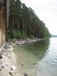 Фото Тургояка с пляжа турбазы