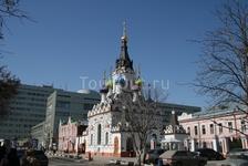 Церковь на пересечении Волжской и Радищева