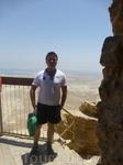Масада - древняя крепость у юго-западного побережья Мёртвого моря, в Израиле. Недалеко от города Арад, у шоссе Эйн-Геди — Эйн-Бокек.