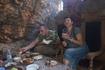 Обед в пещере
