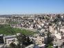 По дороге на Мертвое море остановились одним глазком посмотреть на Иерусалим.