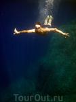 о. Родос. Бухта Энтони Куинна. Вода в бухте кристально прозрачная, плавать в ней - одно удовольствие!