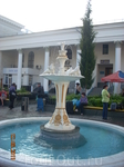 ЖД вокзал, встреча у фонтана Голуби