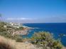 Вид на побережье с дороги.