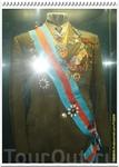 А мы переходим в следующий зал, посвящённый Ю.А. Гагарину. Сразу бросается в глаза парадный мундир первого космонавта.