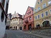 На улицах Фюссена