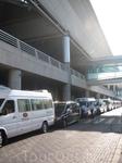 частичка, а точнее парковка, аэропорта Ататюрк