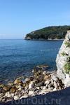 Такой вид на Адриатическое море предстает с крепостной стены.