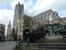Гент. Вид на собор Св.Бавона.