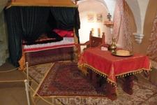 Спальня в Дворцовых палатах.