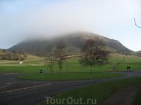 Гора Артур Хилл в Эдинбурге. Оттуда открывается потрясающий вид на город!