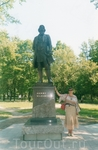 памятник Мальцеву в Гусь-Хрустальном