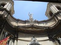 Фасад церкви кораблекрушения святого Павла
