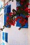 Белые стены, синие окна...