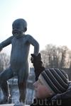 Самая капризная статуя в парке скульптур Вигеланда.