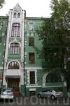 Дом с кошками на ул. Гоголевской.