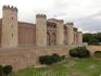 Поскольку время обратного поезда на Мадрид неумолимо приближалось, мы двинулись в сторону вокзала, чтоб как и планировали посмотреть дворец Алхаферия (Aljafería) ...