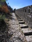 Котор. Лестница на крепость.
