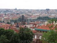 Со стороны Града Пражского/резиденции