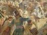 """Константин Маковский """"Минин на площади Нижнего Новгорода, призывающий народ к пожертвованиям. 1896."""" Фрагмент картины. Само произведение создавалось во ..."""