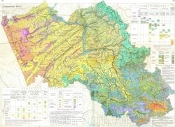 Ландшафтная карта Алтая