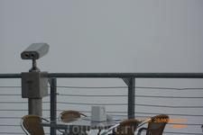 За 1 турецкую лиру можно посмотреть на прекрасные виды....  Когда туман уйдет...