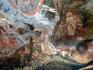 Сотворение Евы из ребра Адама. В росписях слишком смело и откровенно написанные обнаженные тела, что вовсе не типично для храма. Но на исходе XVIII века ...