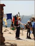 туристы на о-ве Горэ