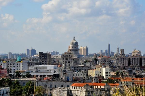 Гавана, вид на старый город