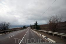 """Первым делом решаю """"слетать"""" в Балаклаву. Сначала дорога такая"""