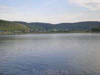 """Село Ширяево. Здесь И.Е.Репин написал знаменитую картину """"Бурлаки на Волге""""."""