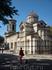 Храм Иоанна Предтечи в центре Керчи. Своей архитектурой он напомнил мне старинные сооружения в Несебре в Болгарии.