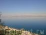 вид на Мёртвое море, на противоположном берегу Израиль