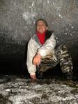 пещера медео, кристалльный грот, сильно невысокий))))