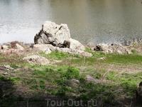 Озеро в парке Джермука