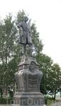 Петрозаводск, памятник Петру 1.