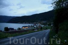 ночь опускается на деревню... Инвик, Нордфьорд