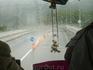 вот по такой дороге и погоде едем в княжество Лихтенштейн