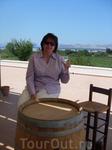 Пробуем Греческое вино.