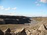 Последний пункт нашего путешествия - крупнейший в Европе водопад Детифосс. А это каньон Йокульсаарглюфюр.