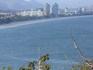 Вид на город с горы безьян