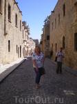На улице Рыцарей (Иполлон) в крепости