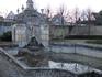 Фонтан 18 века во дворе усадьбы Виланда,где останавливались школьники( часть усадьбы - гостиница).
