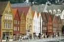 Ганзейская набережная Брюгген в Бергене, губерния Хордаланд. Foto: Jens Henrik Nybo/Innovation Norway