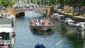 В Копенгагене каналы - как улицы.