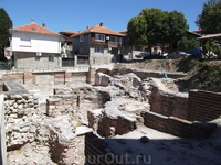 Византийскии термы в старом Несебре