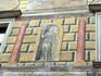 А былую красоту росписи стен постарались придать студенты своими силами.