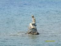 Русалка на камнях сидит(Залив Гёкова.Бухта Оклук)
