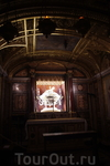 Санта Мария Маджоре, святыня - золотой ларец с кусочками вифлеемских яслей
